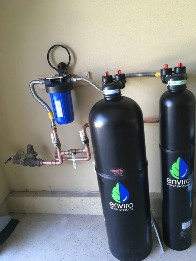 Avoid the plumber install a water filtration system