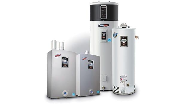 Bradfor & White Water Heaters