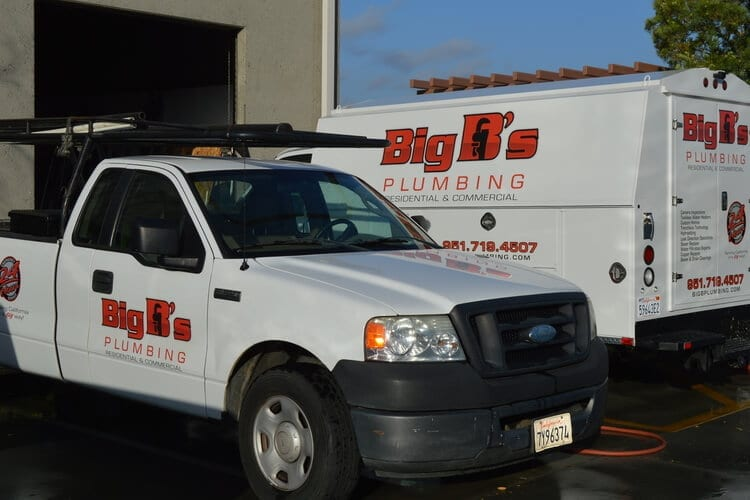 Menifee slab leak repair and detection trucks