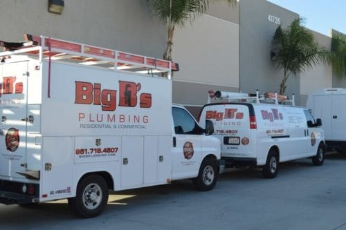 Big B's It Your Valley Center Plumbing Company