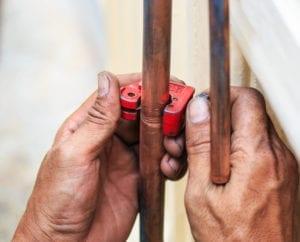 Copper Pipe Cutting