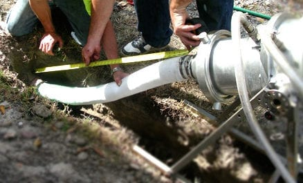 Trenchless sewer line repair