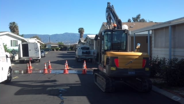 Sewer Main Replaced