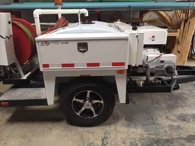Hydro Jet Drain Cleaning Service Equipment