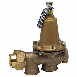 Water pressure regulator - low water pressure