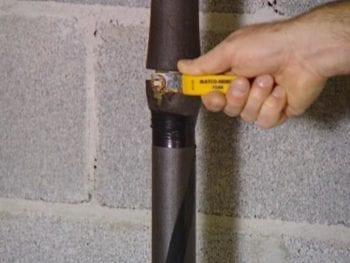 shut off valve for your plumber