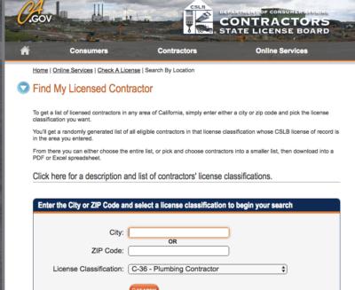 How To Find A Plumbing Contractor Big B S Plumbing