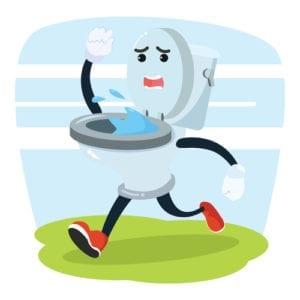 Running Toilet