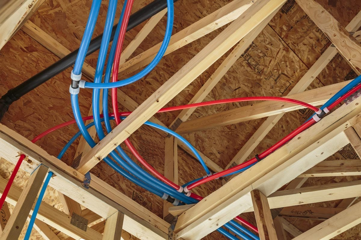 Moreno Valley Home Repiping - PEX Tubing