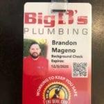 Licensed plumbing contractor