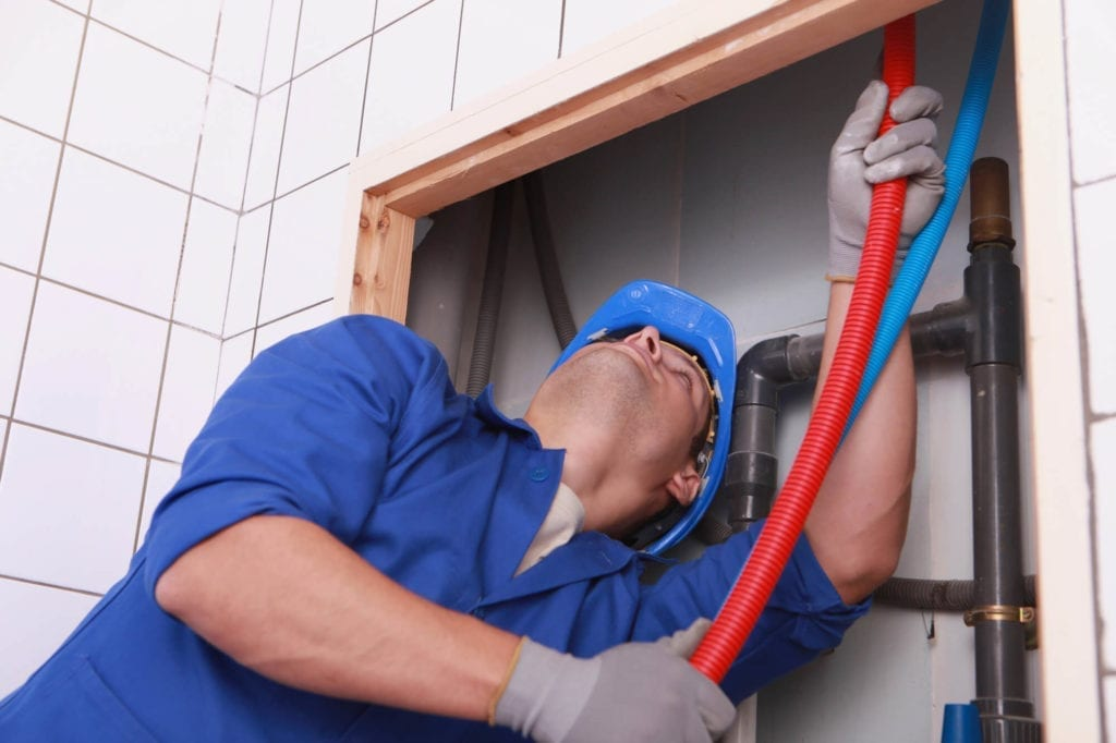 What your plumbing looks like behind your walls